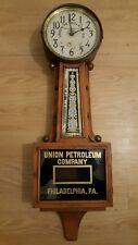 UNION PETROLEUM PHILADELPHIA BANJO CLOCK INGRAHAM PETROMOBILIA ROD ADVERTISEMENT