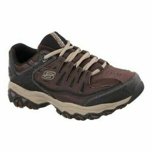 Skechers Men's Memory Foam / After Burn Brown/Taupe / Relaxed Fit / NIB/Reg $60