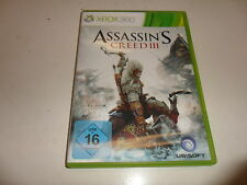 Xbox 360 Assassin 's Creed 3