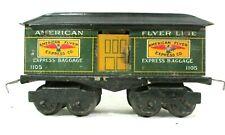 American Flyer Lines 1105 Express Baggage Car Prewar Model Train Railway B67-45