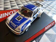 Scalextric Ninco 50334 Porsche 934 Burton Of London 1/32 *NEW* Boxed Car See Pic