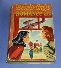 1941 BEVERLY GRAY'S ROMANCE College Mystery Series Clair Blank HCDJ 1st Edition