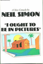 Neil Simon Dinah Manoff I Ought To Be In Pictures Signed Autograph 1st Ed Book
