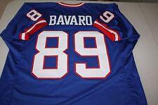 MARK BAVARO #89 TE SEWN STITCHED HOME THROWBACK JERSEY SIZE XLG SUPER BOWL XXI
