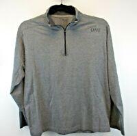 Delta One Men's X-Large Lightweight 1/4 Zip Sweatshirt Gray