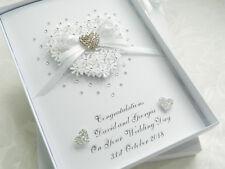 Personalised Handmade Wedding Day/Anniversary Engagement Christening Card Box