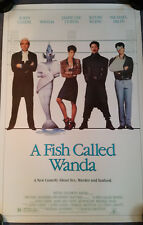 FISH CALLED WANDA ORIGINAL 1988 1 Sheet MOVIE POSTER   /   ROLLED  27 X 41