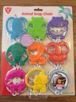 Animal Chain Baby Buggy Pram Toy (12+ Months) *Brand New*