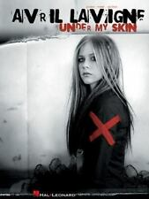 ~~NEW~~ Avril Lavigne - Under My Skin (2004,Songbook Sheet Music Song Book