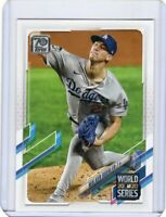 2021 TOPPS  BASEBALL CARD # 44 - WALKER BUEHLER - LOS ANGELES DODGERS
