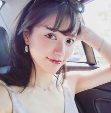 Korean drama Doctor Park Shin-Hye Lucky Bean Pendant Necklace Sterling Silver I2