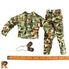 British SAS - Camo Uniform Set & Dogtags - 1/6 Scale - GI Joe Action Figures