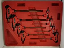 Mac Tools 8-PC. BI-MATERIAL Metric T-HANDLE HEX KEY SET SHKTM8PT