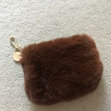 River Island Brown Fluffy Purse