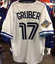 Toronto Blue Jays 1992 Kelly Gruber Baseball World Series Patch Jersey X-Large