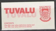 TUVALU SGSB5 1984 STAMP BOOKLET MNH