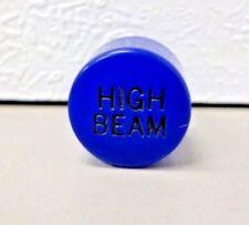 Peterbilt Dashboard Indicator Lens BLUE HIGH BEAM 9/16-27 Thread