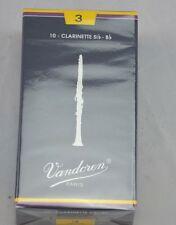 Spielblättchen Vandoren  Clarinette Klarinette 10erSatz Stärke 3