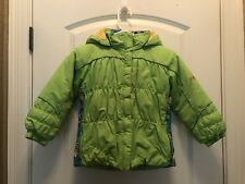 Girls Dragonflies Ski/Winter Jacket Green Size 6