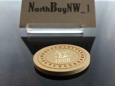 Vintage Poker Chip, Illegal Gambling BPOE ELKS 1800 Lodge Shoreline WA *RARE*