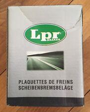LPR 4 PLAQUETTES DE FREINS ARRIERE NEUF REF 05P634 @ VW GOLF IV,V, PASSAT @ N397