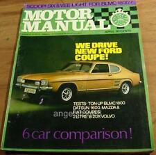 1969.MOTOR.CAPRI.MAZDA 1200.FIAT 850.VOLVO.DATSUN 1600GT.VW.MINI.Austin 1800