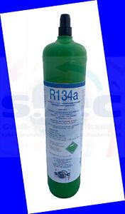 1 Liter Mehrweg Kältemittel Flasche gefüllt. mit 900g R134a