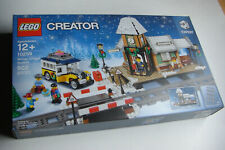 RETIRED!  LEGO 10259 CREATOR Winter Willage  Station 2017 Made in USA