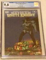 Batman White Knight #1 NYCC Convention Foil Variant CGC 9.8 NM/MT DC 2017