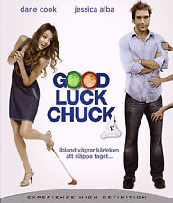 Good Luck Chuck (Blu-ray, 2007) Dane Cook, Jessica Alba NEW SEALED