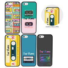 Cassette Tape Personalised Name Case for Apple iPhone 5s 6s 7 8 PLUS X XR XS Max