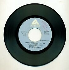 BAY CITY ROLLERS - Rock and Roll Love Letter & Shanghai'd in Love 45 RPM Arista