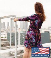 Knee Length Paisley Dresses Tunic/Smock Dress