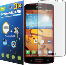 3x Clear LCD Screen Protector Guard Shield Skin Cover Film LG Volt F90 LS740
