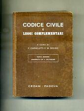 Carnelutti e Bigiavi # CODICE CIVILE E LEGGI COMPLEMENTARI # Cedam 1977
