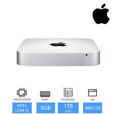 Apple Mac Mini Slimline Desktop PC Intel Core i5 8GB RAM 1TB HDD Mac OS - MGEQ2B