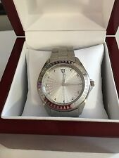 Timepieces by Randy Jackson Men's SPORT SILVER Stainless Steel WATCH  NEW