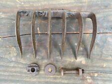Rare Antique Vintage Planet Jr Single Double Wheel Cultivator Six-Teeth Rake