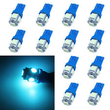 10PCS Ice Blue interior T10 Side Wedge 5-SMD 5050 LED 168 194 2825 501 W5W 12V D