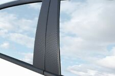 6x PREMIUM A B C COLUMNA Puerta Listones Película Auto Carbono Negro