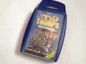 Top Trumps - The Lord Of The Rings The Return Of The King