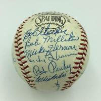 The Finest 1965 St. Louis Cardinals Team Signed Baseball 29 Sigs PSA DNA COA