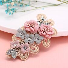 Rosa Chiaro Panno Diamante Aliceband Hairband cerchietto festa di nozze VA154-2