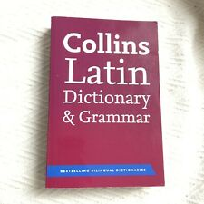 Collins Latin Dictionary And Grammar 1st Edition by HarperCollins Publishers VGC