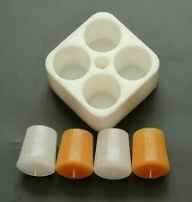 Silicone Mould Votive Candle Making Soaps, UK Made, Flexible and Durable