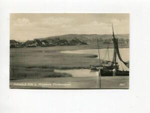 uralte AK Ostseebad Vitte auf Insel Hiddensee Fischerhäuser //54