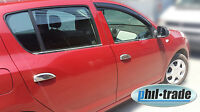 Dacia LOGAN II SANDERO II ab 2013 und STEPWAY Edelstahl Chrom Türgriffe Blenden