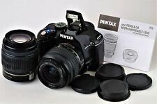 Pentax K K-x fotocamera digitale 12.4mp (Kit con poiché L 18-55mm & 50-200mm) Obiettivo
