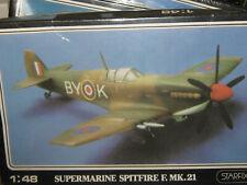 Starfix British Supermarine Spitfire Fighter Plane-1/48 Scale-Free Shipping