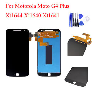 100% OEM LCD Display Touch Screen Digitizer Panel For Moto G4 Plus XT1641 XT1644